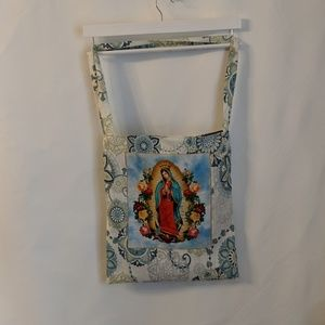 Milk Drunk Clothing Bags - Our Lady Of Guadalupe Market Bag Shopping Tote NWT